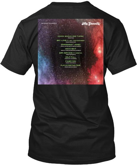 The Black T-Shirt Back
