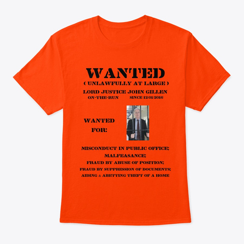On The Run Tee Shirt Orange T-Shirt Front
