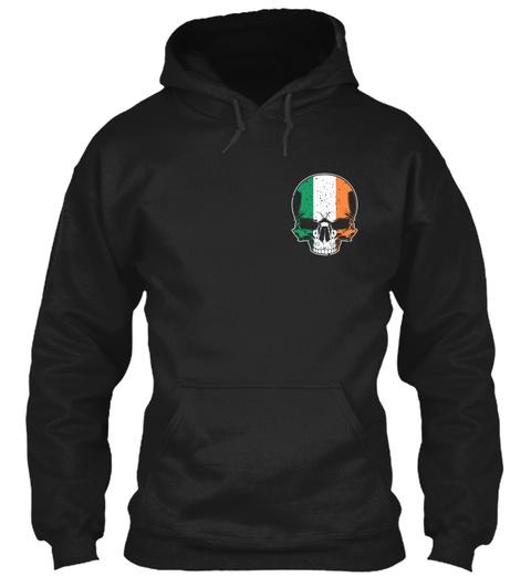 Deplorable Shirt   Irish American Black T-Shirt Front