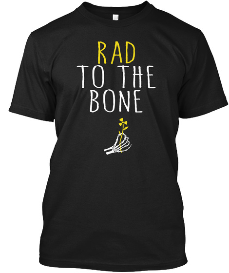 Radiology Tech Rad Tech R.T. Graduation  Black T-Shirt Front