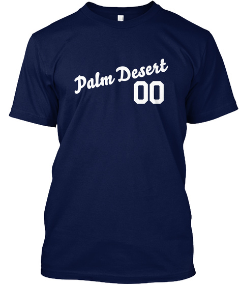 Palm Desert Varsity Legend Navy T-Shirt Front
