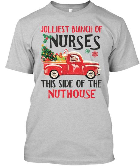 Nurses Light Steel T-Shirt Front