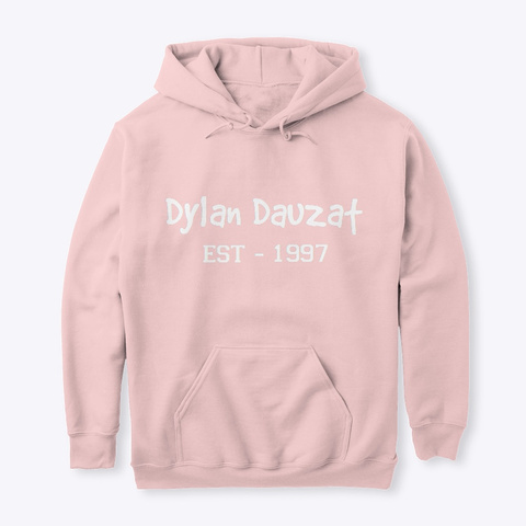 Dylan  Connect Clothing Light Pink Sweatshirt Front