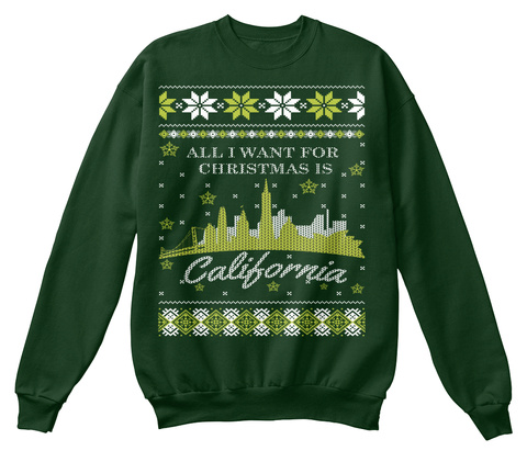 [LIMITED EDITION]California Ugly Sweater Unisex Tshirt