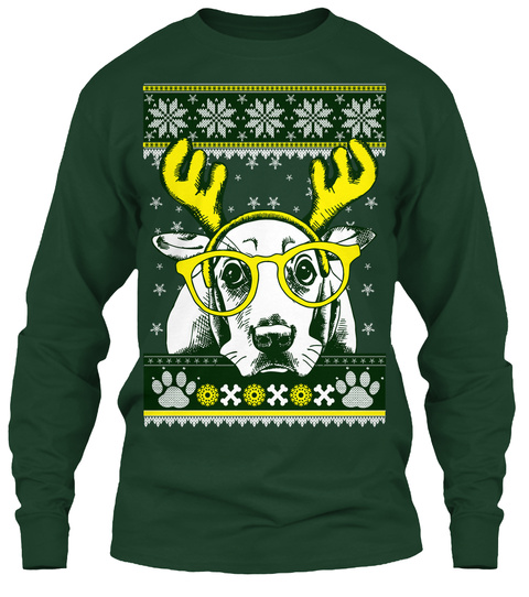 Basset Hound Christmas Sweater Products From Basset Hound Cast