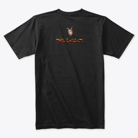 Talk Dat Tawwwk! Black T-Shirt Back