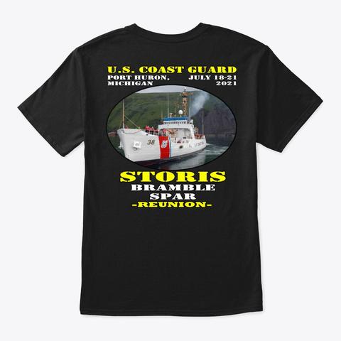 Storis (Wmec 38) T Shirt Black T-Shirt Back