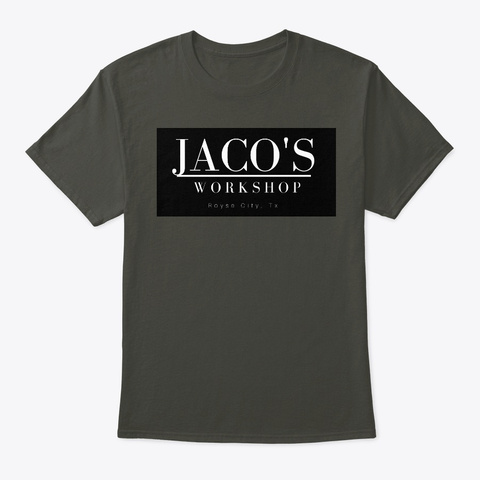 Jaco's One Sided Tee  Smoke Gray T-Shirt Front