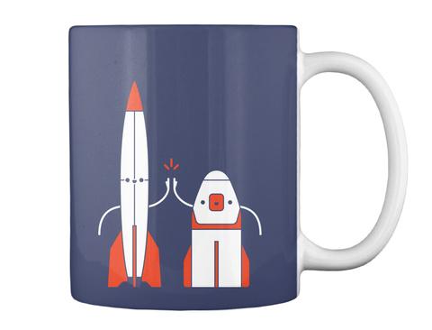 V2 Bros Mug [Usa] #Sfsf Dk Navy Mug Back