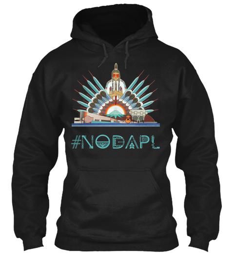 #Nodapl Black Sweatshirt Front