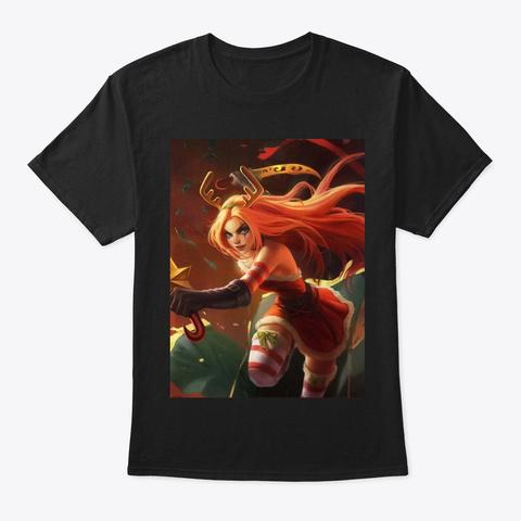 Slay Belle Katarina Black T-Shirt Front