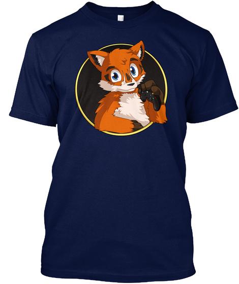 Nightfoxx Tee Navy T-Shirt Front