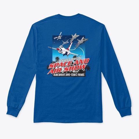2020 Lmsas Official Event T Shirt Royal T-Shirt Back