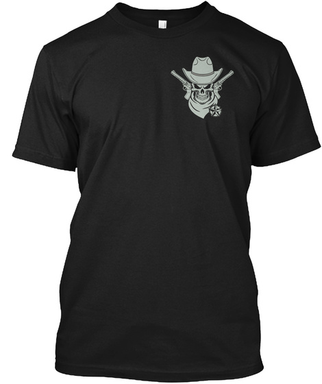 This Is Texas Black T-Shirt Front
