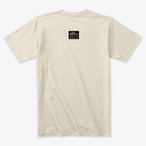 Vintage I Hotel Tiger Logo T Shirt Cream T-Shirt Back