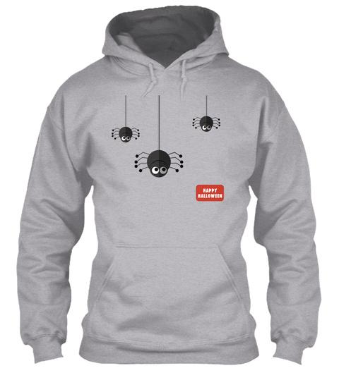 Halloween T Shirt, Mug, Sticker Sport Grey Sweatshirt Front