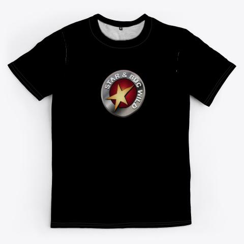 Star & Buc Wild  Black T-Shirt Front