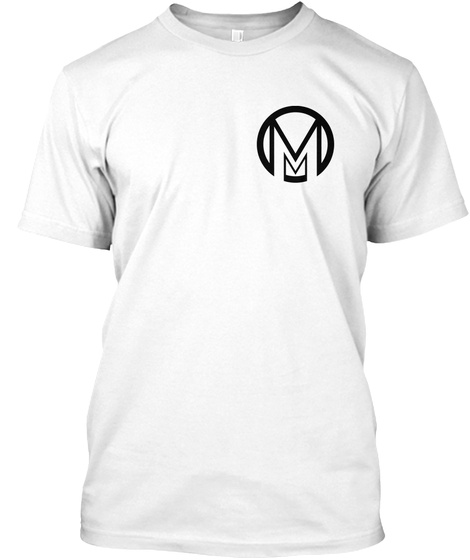Mm White T-Shirt Front
