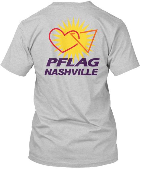 Pflag Nashville Light Steel Kaos Back