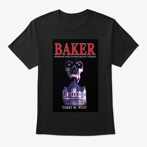 Baker: Demons And Other Night Things Tee Black T-Shirt Front