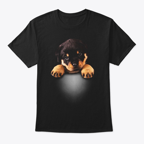 Rottweiler Pocket Black Kaos Front
