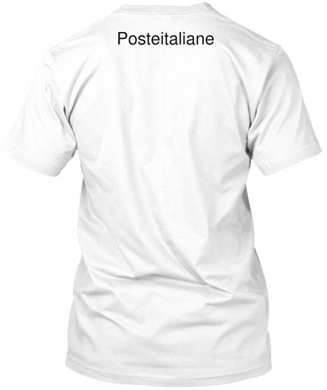 Posteitaliane White T-Shirt Back