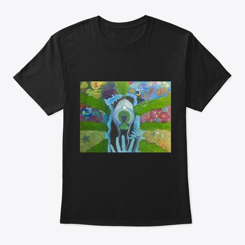 Mariana Black T-Shirt Front