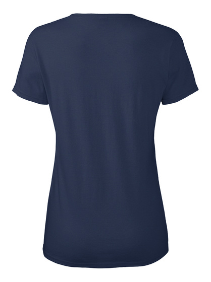 Weekend Forecast   100% Chance Of Wine Navy T-Shirt Back