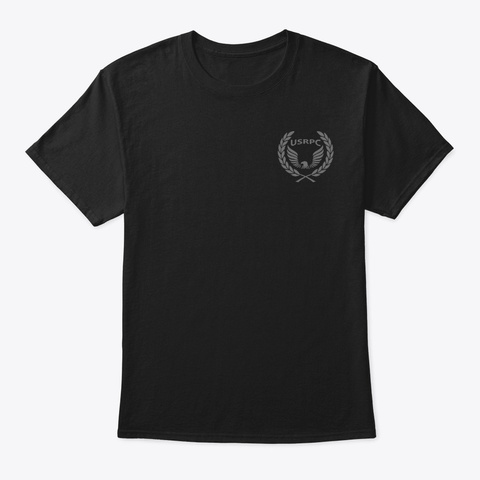 Usrpc Exclusive Tbl Merch Black T-Shirt Front