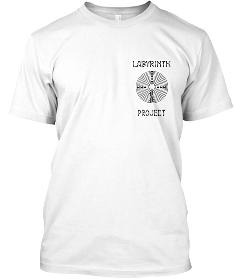 Labyrinth Project White Camiseta Front