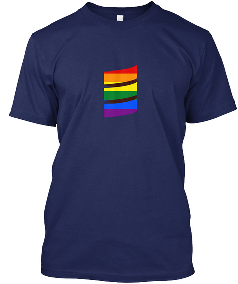 Scala Pride Navy T-Shirt Front