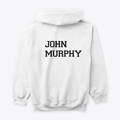 John Murphy Evolution Collection White T-Shirt Back