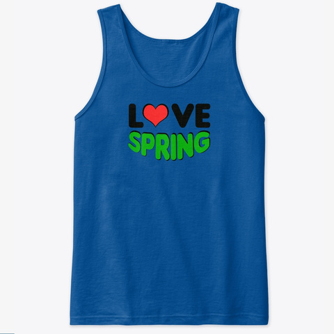 Love Spring Royal T-Shirt Front