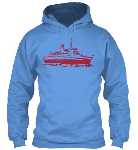 Floating Carolina Blue T-Shirt Front