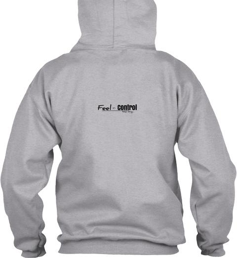 Shop Customized Insta Tees Sport Grey T-Shirt Back