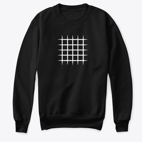 Sweatshirt: Blocks Black T-Shirt Front