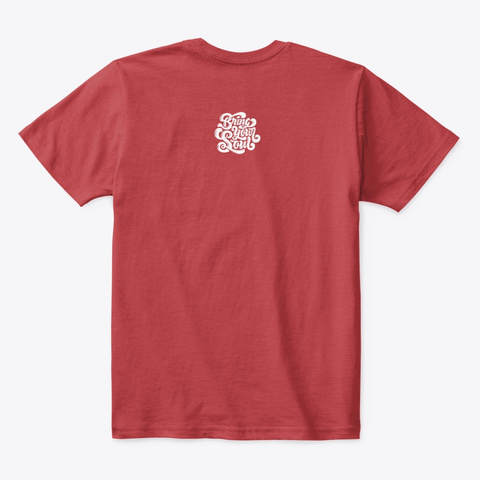 Memphis Tee Classic Red T-Shirt Back