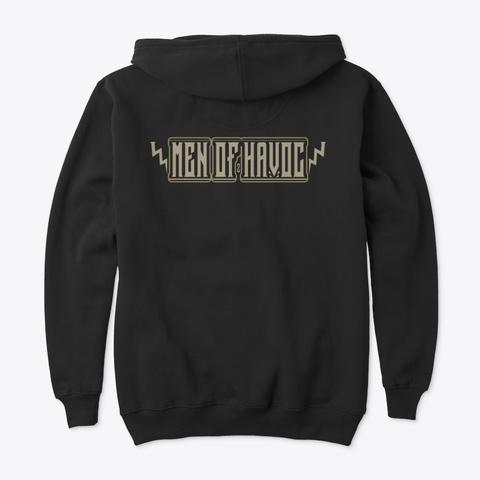 Made In Usa   Black Black T-Shirt Back