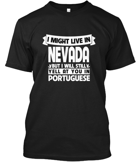 You In Nevada Black T-Shirt Front