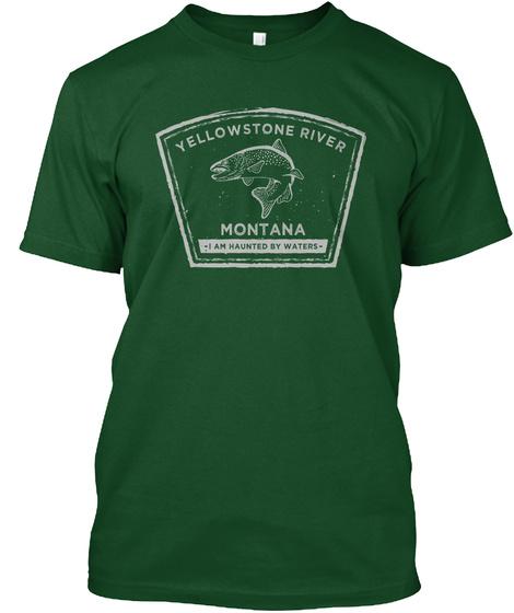 Yellowstone River Fly Fishing Shirt Unisex Tshirt