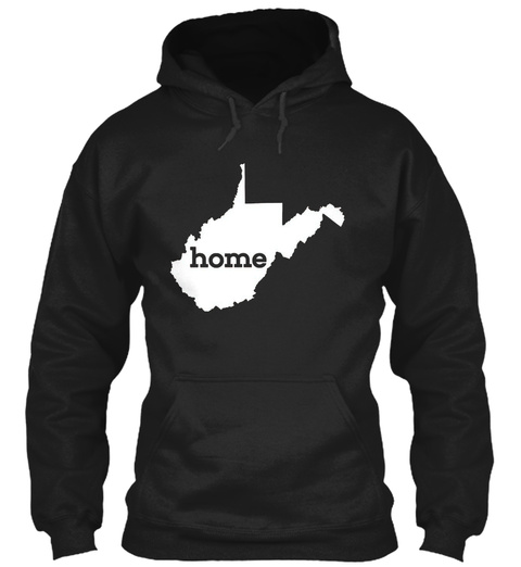 Home Black Sweatshirt Front
