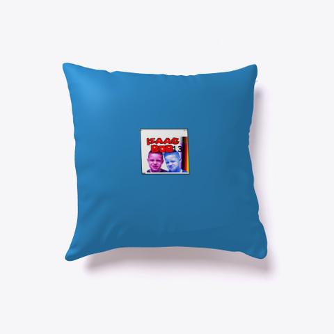 Isaacbob13 Pillow Denim Blue T-Shirt Front