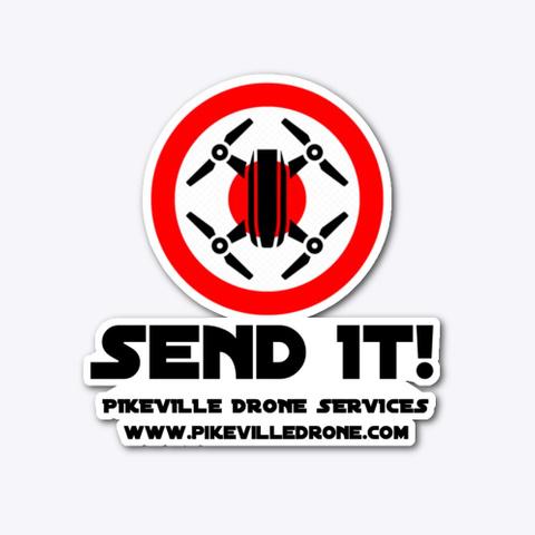 """""""Send It!"""" Sticker Standard T-Shirt Front"""