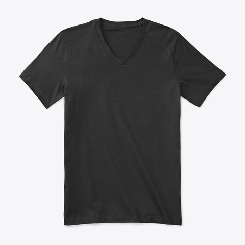 How Expert Premium V Neck T Shirt Black T-Shirt Front