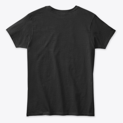 Heavily Meditated Yoga Black T-Shirt Back