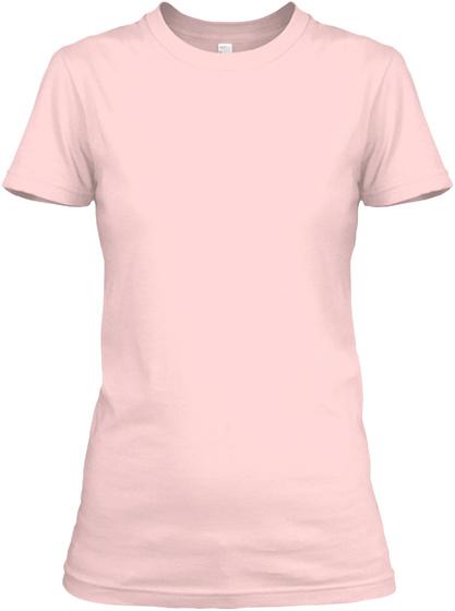 Corgi Dog Shirt Light Pink T-Shirt Front