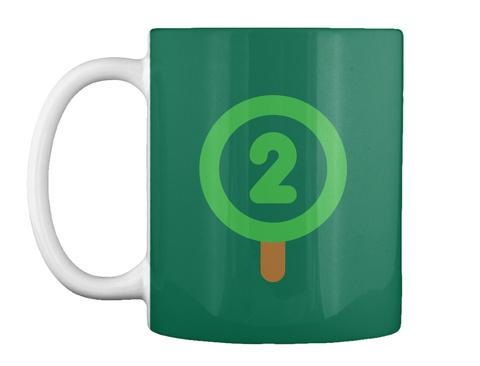 Oxygen Mug [Int] #Sfsf Forest Green Mug Front