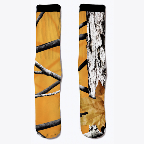 Camo Colored Socks, Whiskey Standard T-Shirt Front