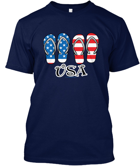 Usa Flip Flops Mens Comfort Colors t shirt – hoodie – sweatshirt – merch