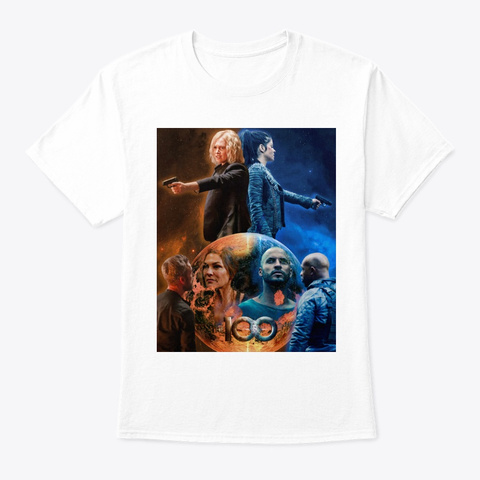 Clarke And Octavia Collection White T-Shirt Front